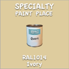 RAL 1014 Ivory Quart Can