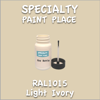 RAL 1015 Light Ivory 2oz Bottle with Brush