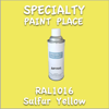 RAL 1016 Sulfur Yellow 16oz Aerosol Can