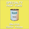 RAL 1016 Sulfur Yellow Gallon Can