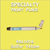 RAL 1016 Sulfur Yellow Pen