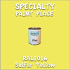 RAL 1016 Sulfur Yellow Pint Can