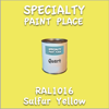 RAL 1016 Sulfur Yellow Quart Can