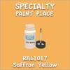 RAL 1017 Saffron Yellow 2oz Bottle with Brush