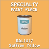 RAL 1017 Saffron Yellow Gallon Can