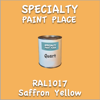 RAL 1017 Saffron Yellow Quart Can
