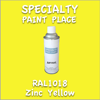RAL 1018 Zinc Yellow 16oz Aerosol Can