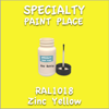 RAL 1018 Zinc Yellow 2oz Bottle with Brush