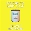 RAL 1018 Zinc Yellow Gallon Can