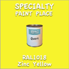 RAL 1018 Zinc Yellow Quart Can