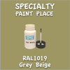 RAL 1019 Grey Beige 2oz Bottle with Brush