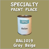 RAL 1019 Grey Beige Gallon Can