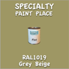 RAL 1019 Grey Beige Pint Can