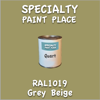RAL 1019 Grey Beige Quart Can
