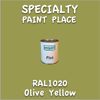RAL 1020 Olive Yellow Pint Can