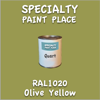 RAL 1020 Olive Yellow Quart Can