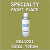 RAL 1021 Colza Yellow 16oz Aerosol Can