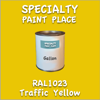 RAL 1023 Traffic Yellow Gallon Can