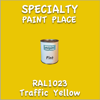 RAL 1023 Traffic Yellow Pint Can