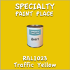 RAL 1023 Traffic Yellow Quart Can