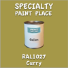 RAL 1027 Curry Gallon Can