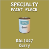 RAL 1027 Curry Quart Can