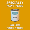 RAL 1028 Melon Yellow Gallon Can
