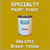 RAL 1032 Broom Yellow Gallon Can