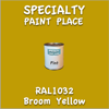 RAL 1032 Broom Yellow Pint Can