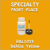 RAL 1033 Dahlia Yellow 2oz Bottle with Brush
