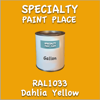 RAL 1033 Dahlia Yellow Gallon Can
