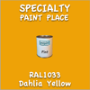 RAL 1033 Dahlia Yellow Pint Can