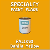 RAL 1033 Dahlia Yellow Quart Can