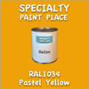 RAL 1034 Pastel Yellow Gallon Can