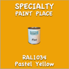 RAL 1034 Pastel Yellow Pint Can