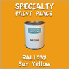 RAL 1037 Sun Yellow Gallon Can