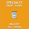 RAL 1037 Sun Yellow Pint Can