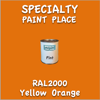 RAL 2000 Yellow Orange Pint Can