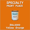 RAL 2000 Yellow Orange Quart Can
