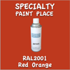 RAL 2001 Red Orange 16oz Aerosol Can