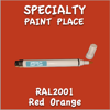 RAL 2001 Red Orange Pen