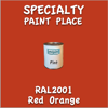 RAL 2001 Red Orange Pint Can