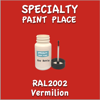 RAL 2002 Vermilion 2oz Bottle with Brush
