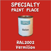 RAL 2002 Vermilion Gallon Can