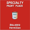 RAL 2002 Vermilion Pint Can