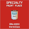 RAL 2002 Vermilion Quart Can