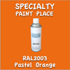 RAL 2003 Pastel Orange 16oz Aerosol Can