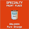 RAL 2004 Pure Orange Quart Can