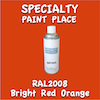 RAL 2008 Bright Red Orange 16oz Aerosol Can