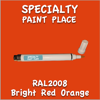 RAL 2008 Bright Red Orange Pen